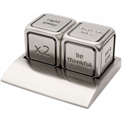 Image of Vegas decision maker dices