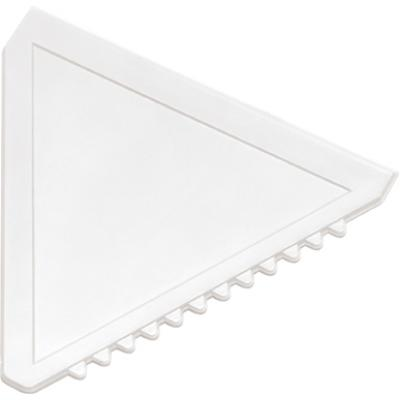 Image of Triangular plastic ice scraper