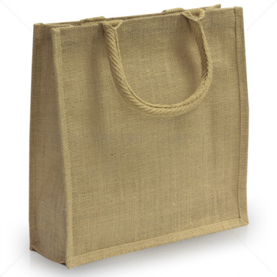Image of 100% Natural Jute Exhibtion Bag