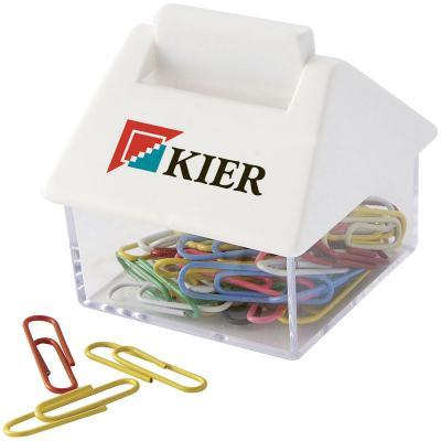 Image of House Shaped Paperclip Dispenser