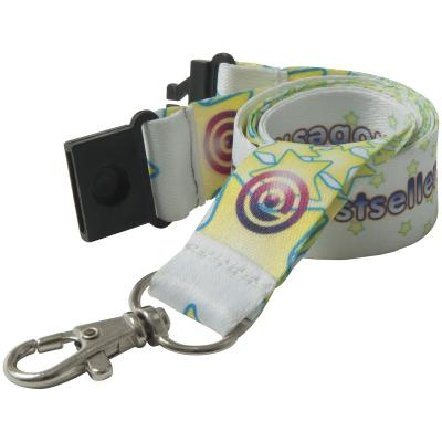 Image of 15mm Recycled Pet Dye Sublimation Lanyard