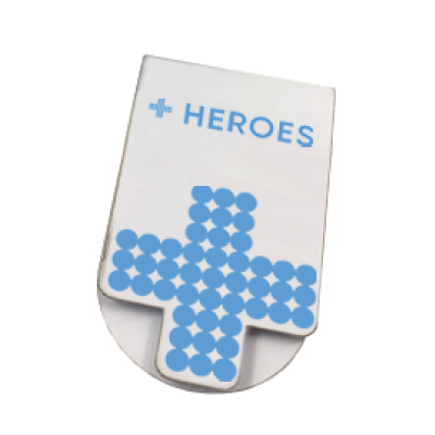 Image of Heroes Magnetic Bookmark
