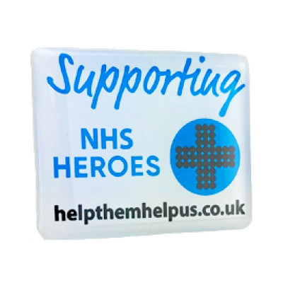 Image of Heroes Clutch Pin Badge