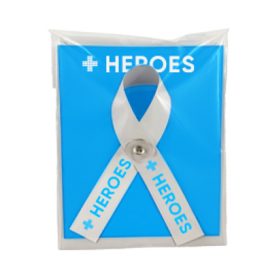 Image of Heroes Campaign Ribbon and Card